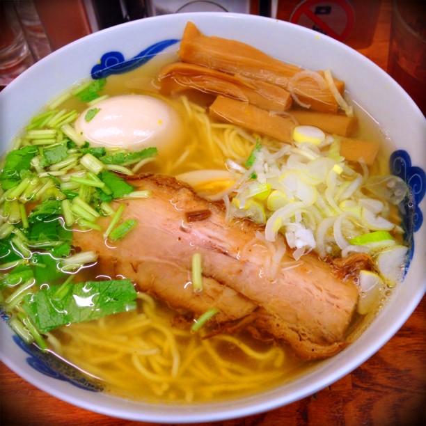 麺屋ひょっとこ 和風柚子柳麺