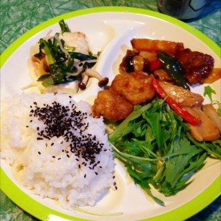 中華惣菜ワンプレート。
