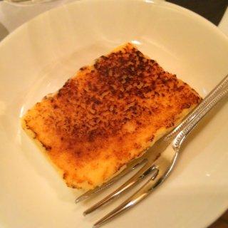 酒粕のカタラーナ。<br>甘酒とチーズの味がした。