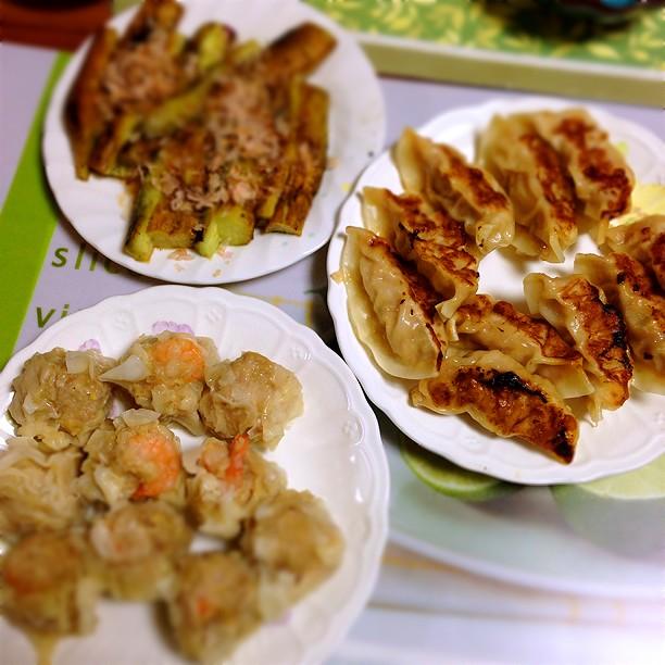 シュウマイ 餃子 京王デパート 焼なす