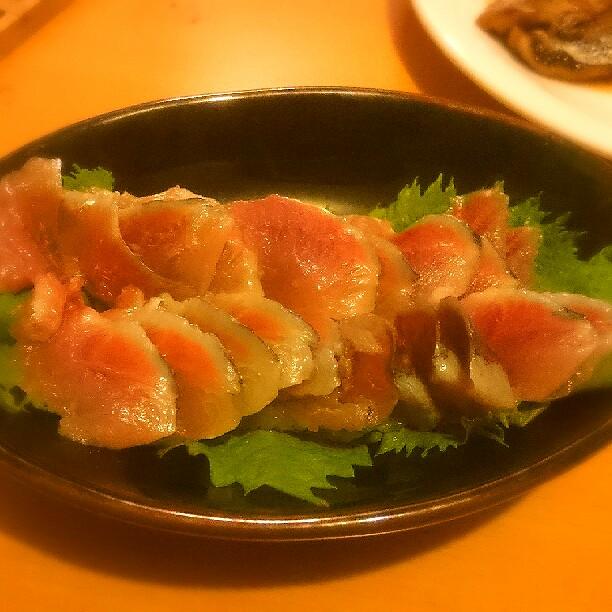 秋刀魚の刺身の写真 miil