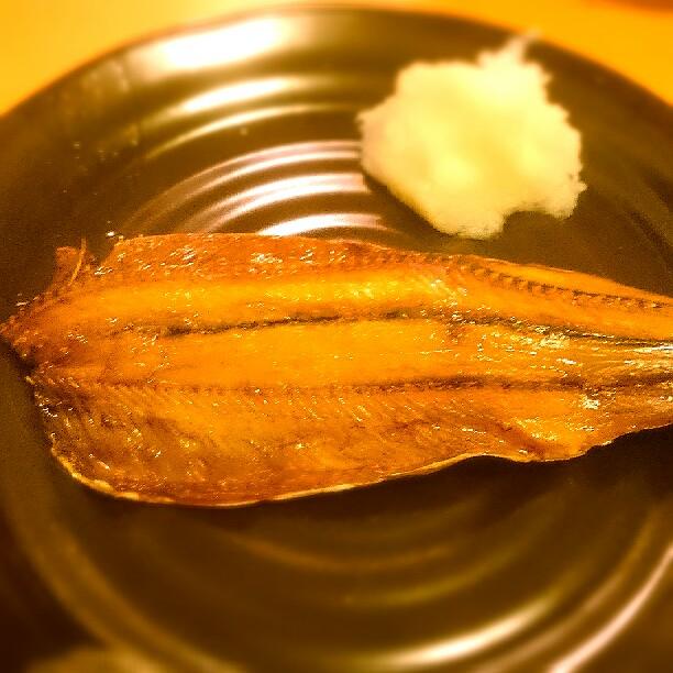 秋刀魚の干物の写真 miil