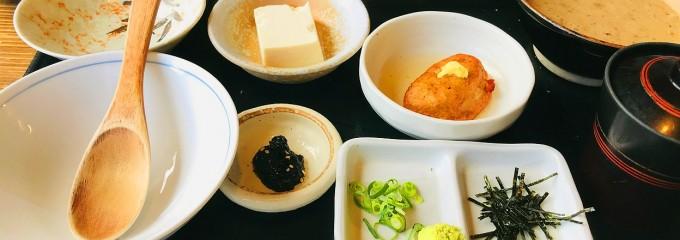 箱根のランチ定食 自然薯の森 山薬