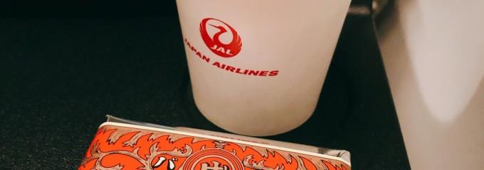 日本航空 機内