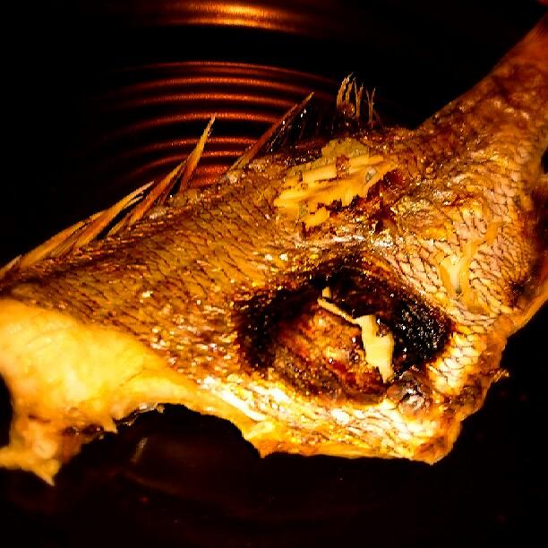 真鯛の塩焼き