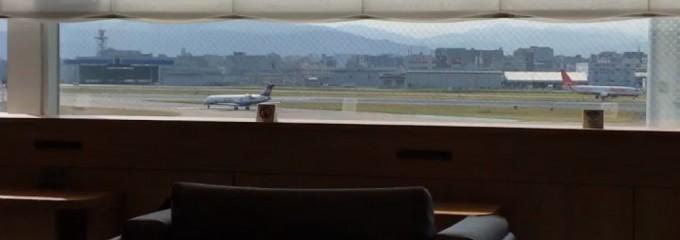JAL国内線 ダイヤモンド・プレミアラウンジ 福岡空港