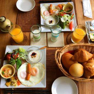 豪華朝食。どれも美味しかったー♡