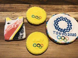 【話題】オリンピック応援グッズはアイシングクッキー⁉