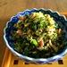 小松菜とベーコンとしらすのごま油炒め : 野口家のふだんごはん ~レシピ置場~