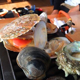 「漁師料理 かなや 磯焼き食べ放題」の画像検索結果